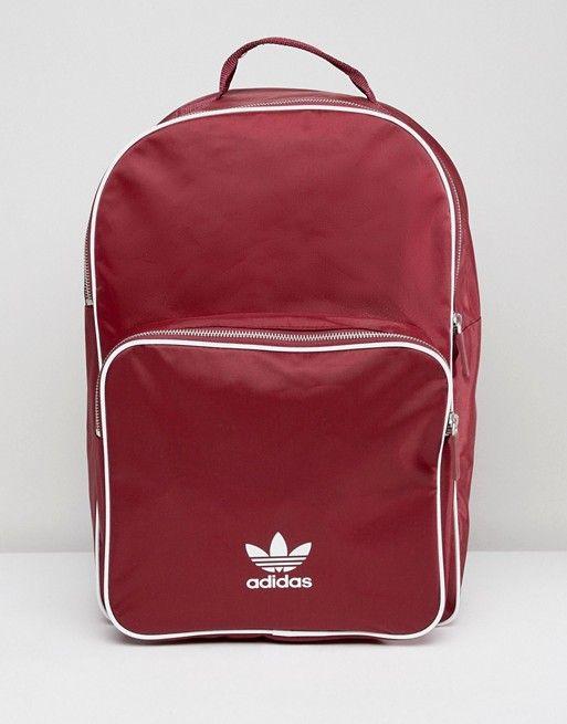 b16e69b2462 adidas Originals adicolor Backpack In Burgundy CW0627 | Adidas ...