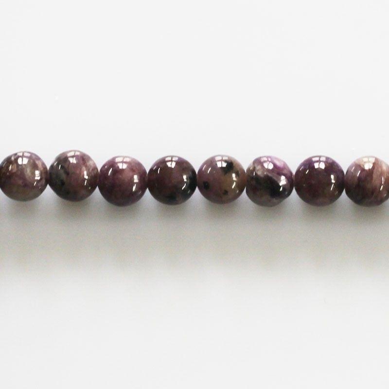 1 Fil 39cm Perles de Pierre Quartz Rose Boules 6mm