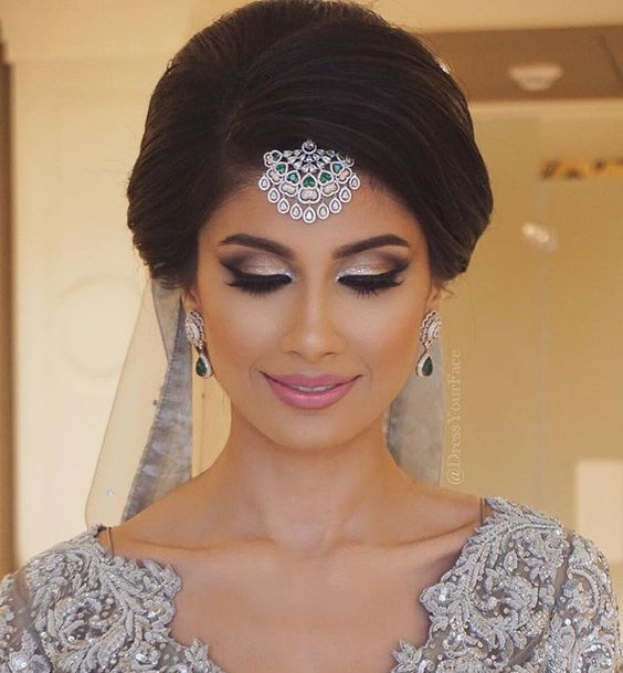 Engagement Bridals, Makeup Tutorial Tips & Dress Ideas 2016-2017 for South Asian Bridals (3)