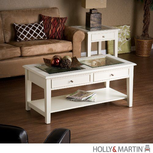 Holly Amp Martin Somerset Cocktail Table In White Holly Amp