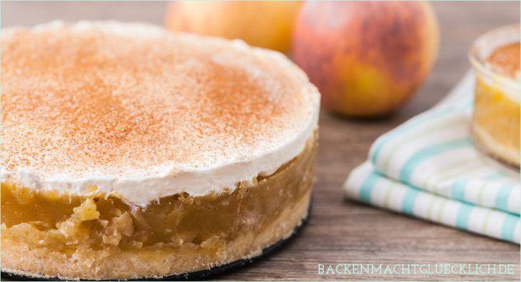Apfel-Sahne-Torte mit Pudding Rezept bester Apfelkuchen - chefkoch schnelle küche