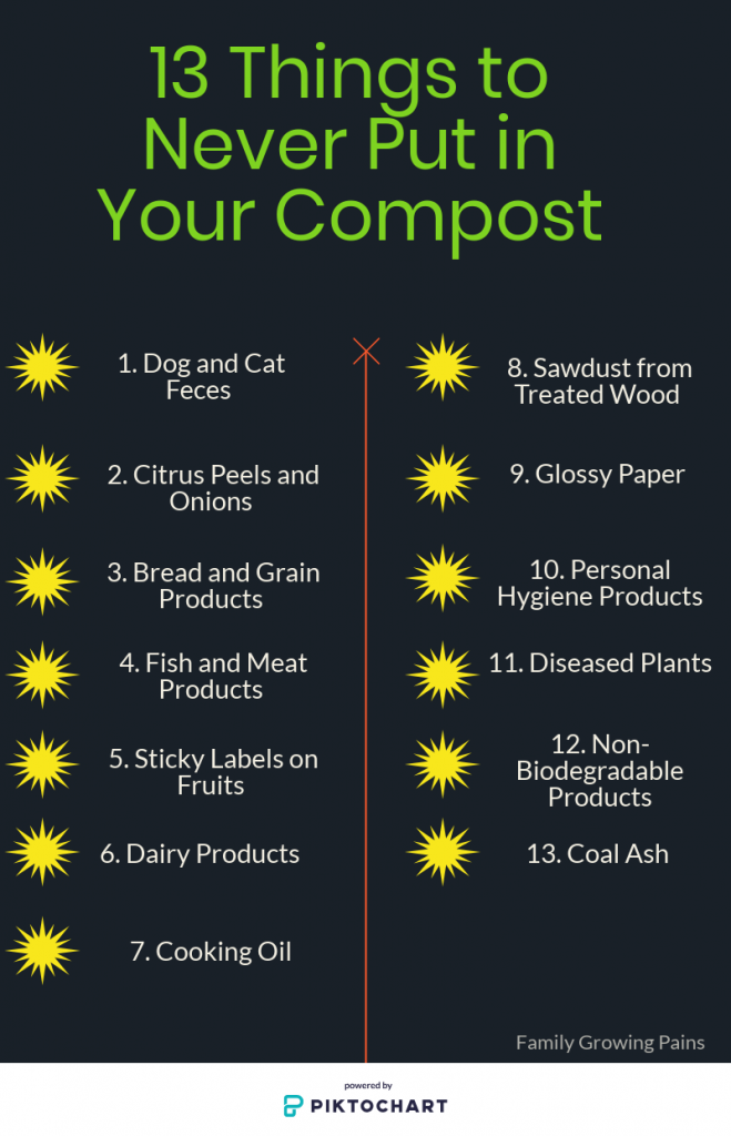 15 Things You Should Never Compost Garden Plants