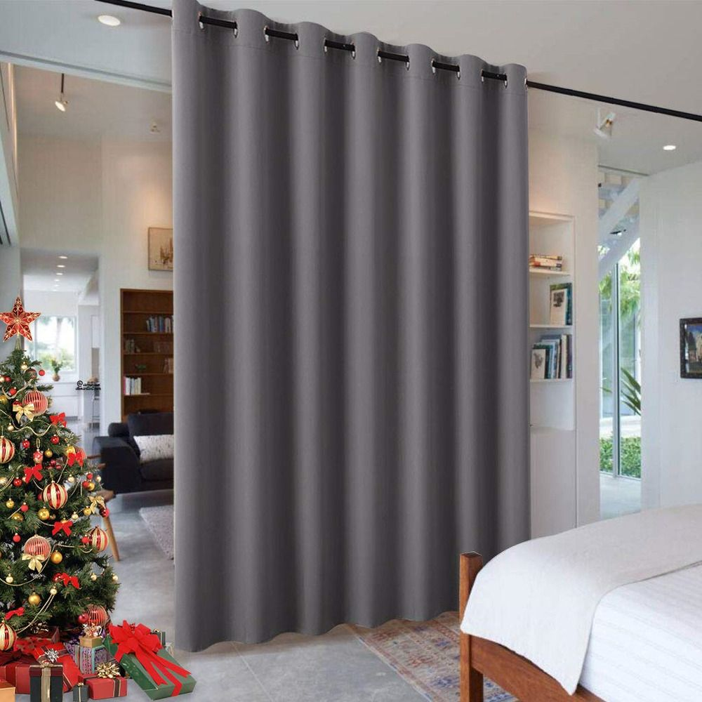Details About Ryb Home Blackout Blind Curtains Space Divider