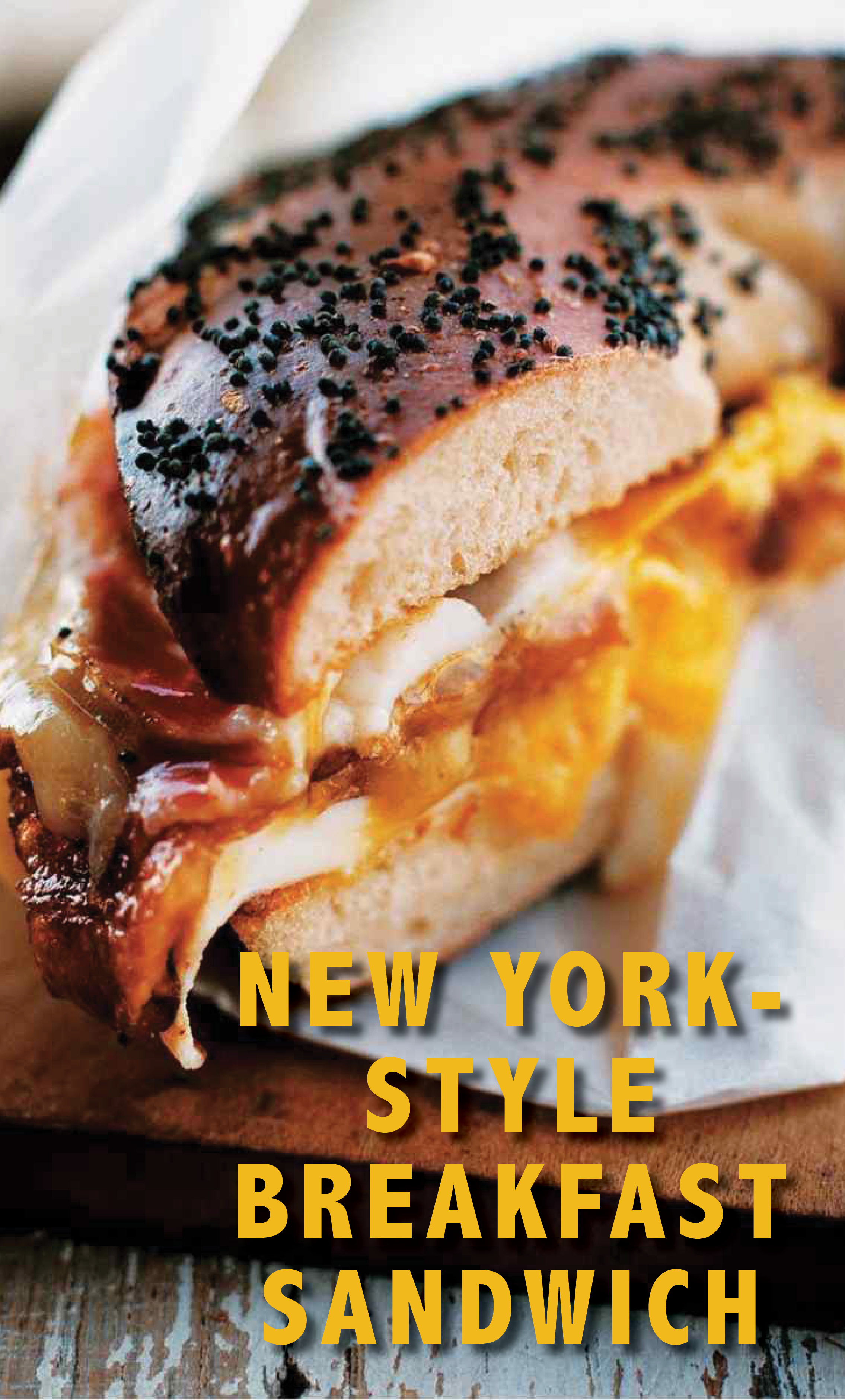 Bacon Egg and Cheese Sandwich New York City Deli Style
