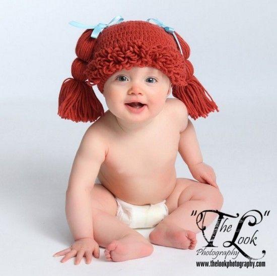 Crochet Cabbage Patch Hats Pattern Video Tutorial  02c35ed3c9e