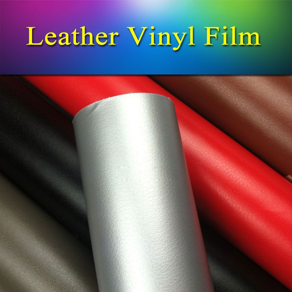 Find More Stickers Information about Silver leather vinyl wrap sheet