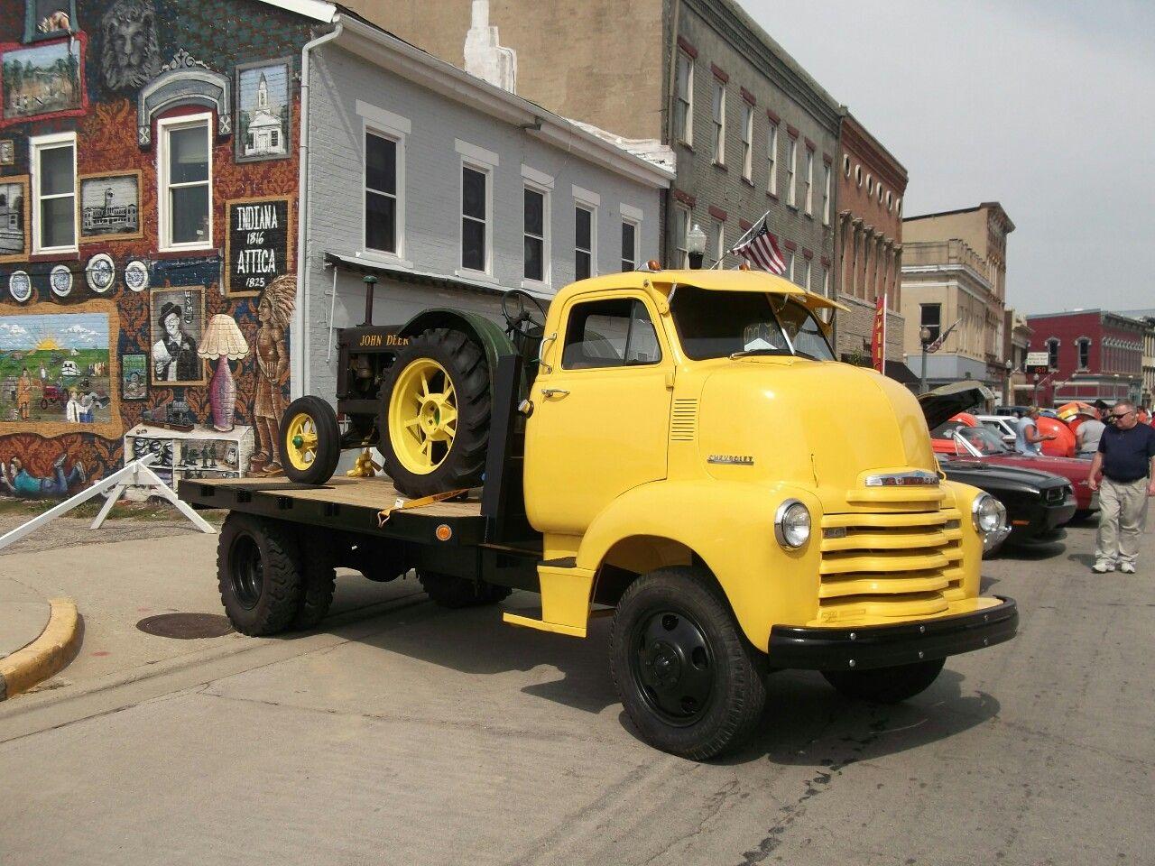 1952 Chevrolet COE Flatbed. Chevrolet, Classic trucks