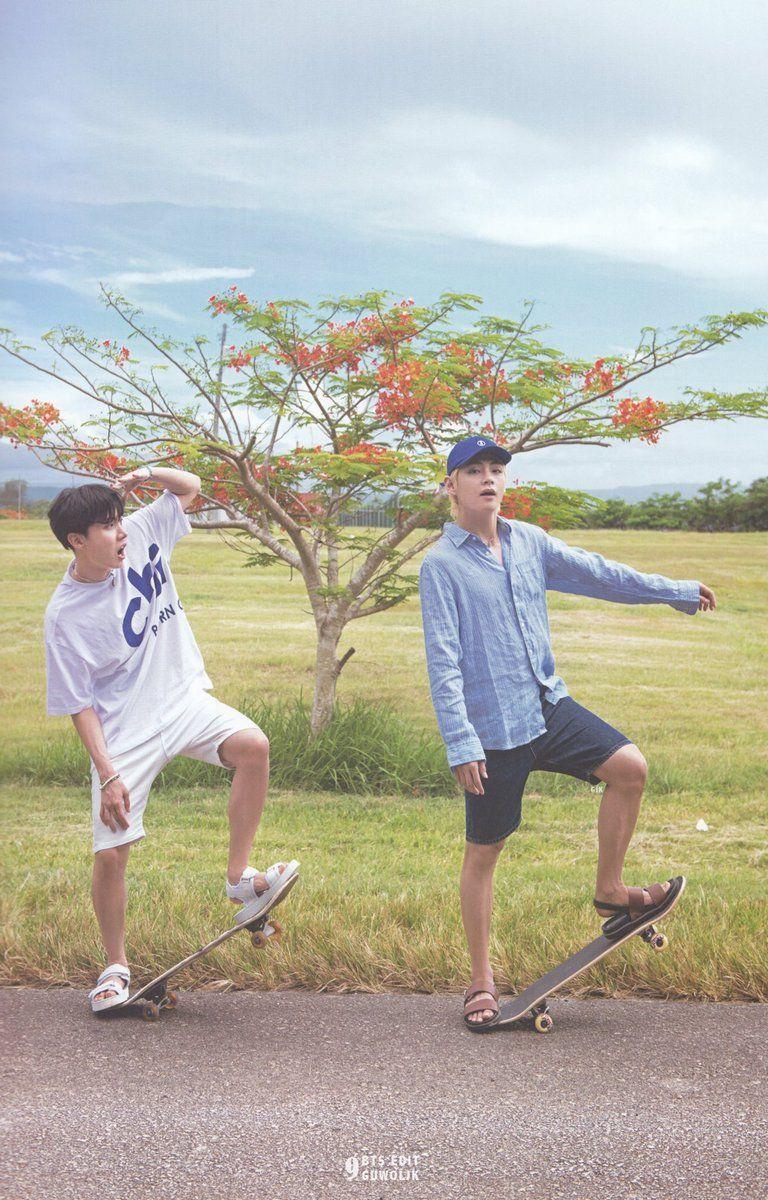(SCAN) 2018 SUMMER PACKAGE IN SAIPAN  BTS  J-hope  V    ©guwoljk