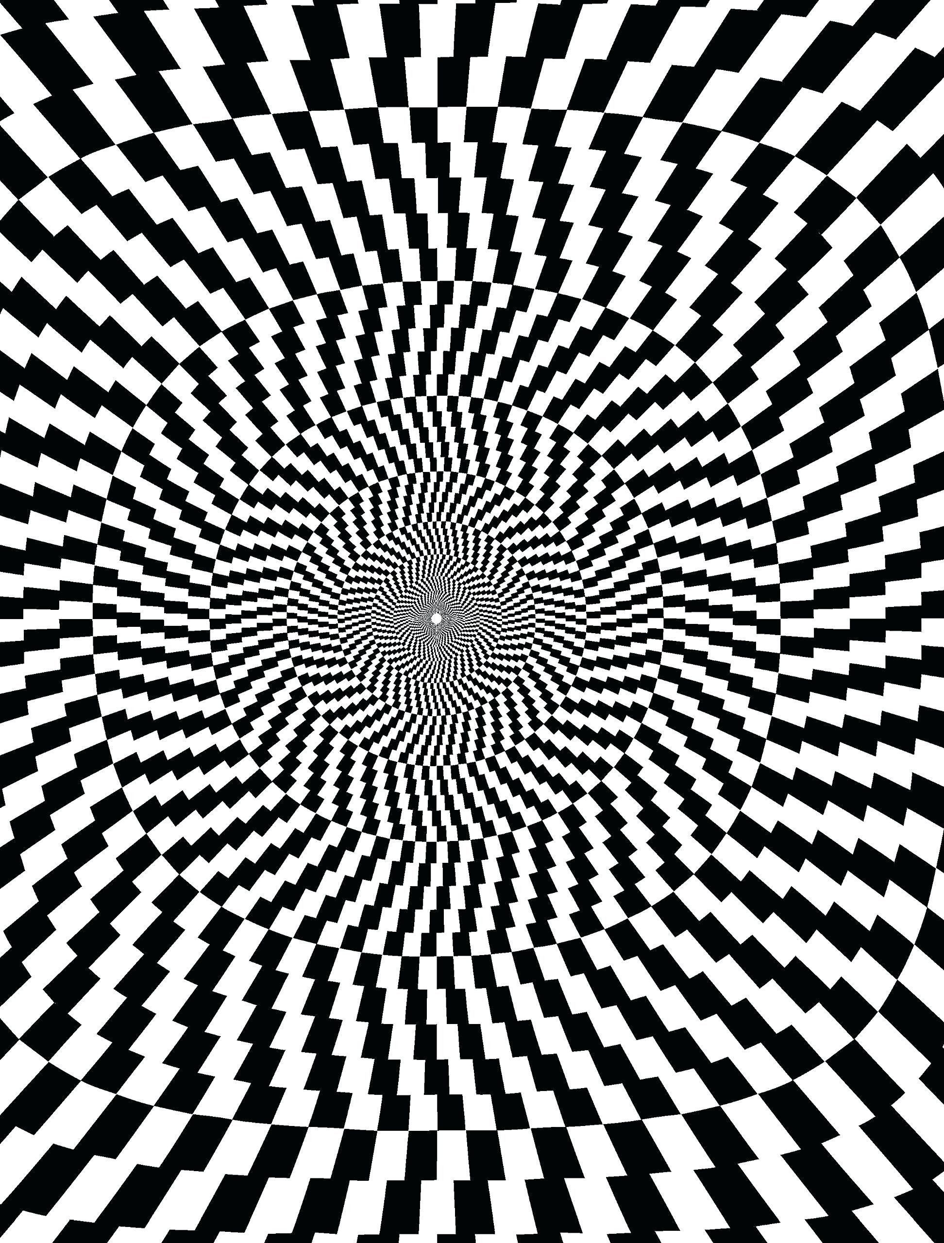 Optical Illusion Coloring Pages Luxury Optical Illusion