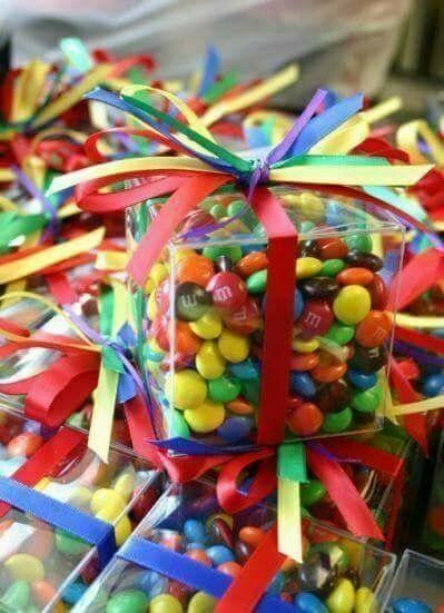 Kleine geschenke regenbogen