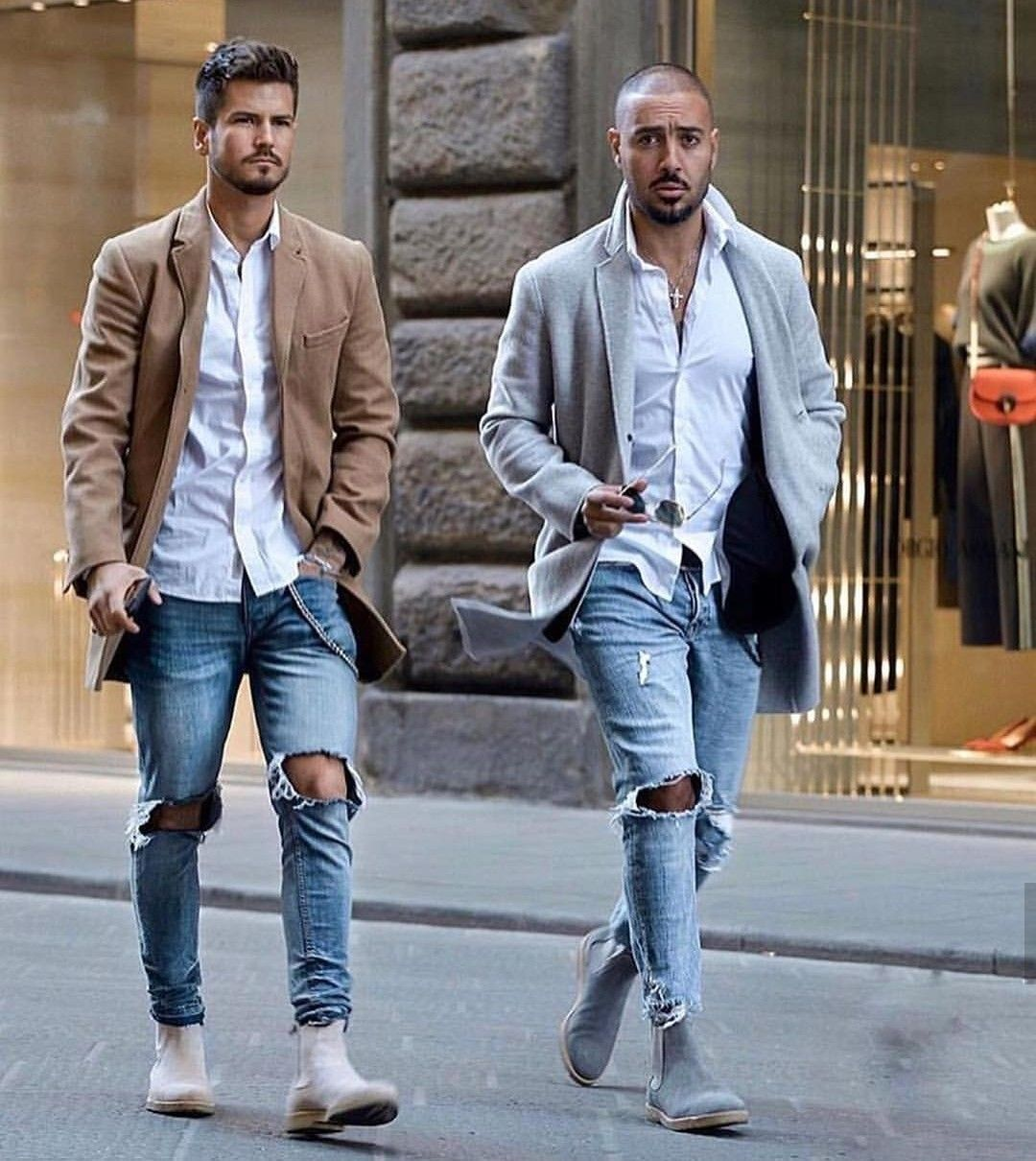 Mens outfits, Chelsea boots men outfit