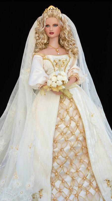 ~ Medieval Wedding Barbie Doll ~ | Dolls