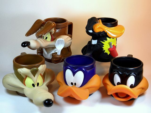 Happy Meal Toys 90s I Had The Wylie Coyote In My Youths 90s