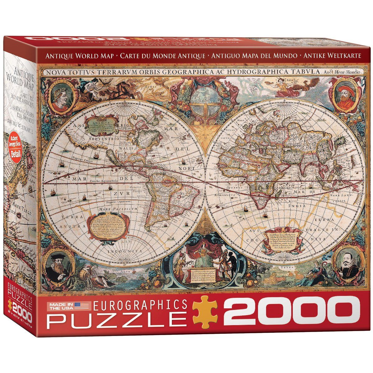 Eurographics antique map of the world jigsaw puzzle 2000 piece eurographics antique map of the world jigsaw puzzle 2000 piece gumiabroncs Choice Image