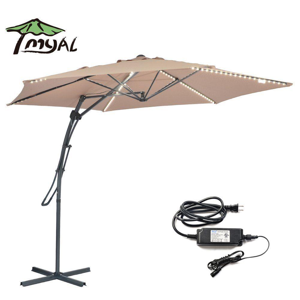 Top 10 Best Offset Cantilever Umbrellas In 2017 Reviews Offset Patio Umbrella Large Patio Umbrellas Patio Design