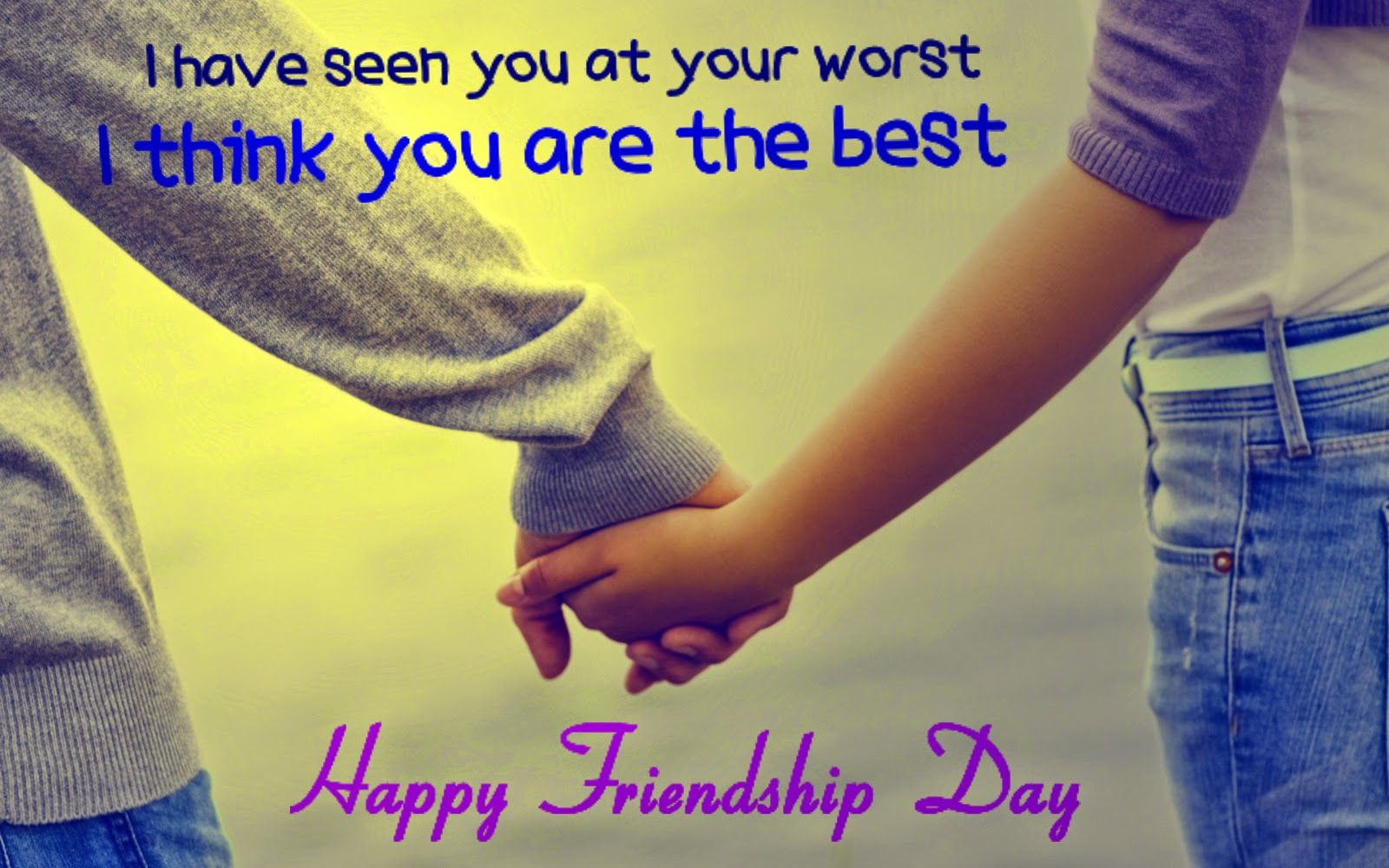 Best Friendship Day Quotes With Images In English : Happy friendship day in india is celebrating on nd