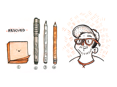 Rescued Illos More here > https://dribbble.com/RypeArts