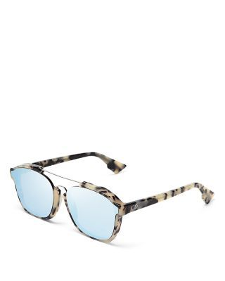 Dior Abstract Square Mirrored Sunglasses, 58mm   Bloomingdale s ... 2610d7c283