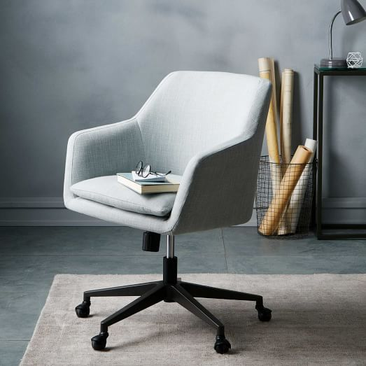 Sensational Helvetica Upholstered Office Chair The Office Swivel Gmtry Best Dining Table And Chair Ideas Images Gmtryco