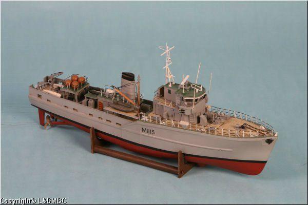 HMS Bronington, Ton-class minesweeper | The Belafonte | Pinterest
