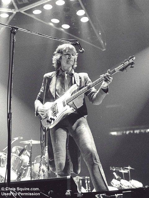 Chris Squire - Yes - w/Rickenbacker 4001 bass guitar
