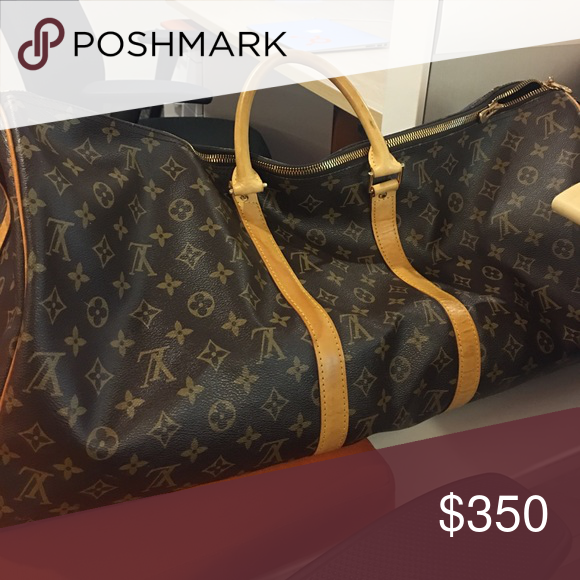 39f7020160ce Louis Vuitton duffle bag Vintage, normally used with some stains ...