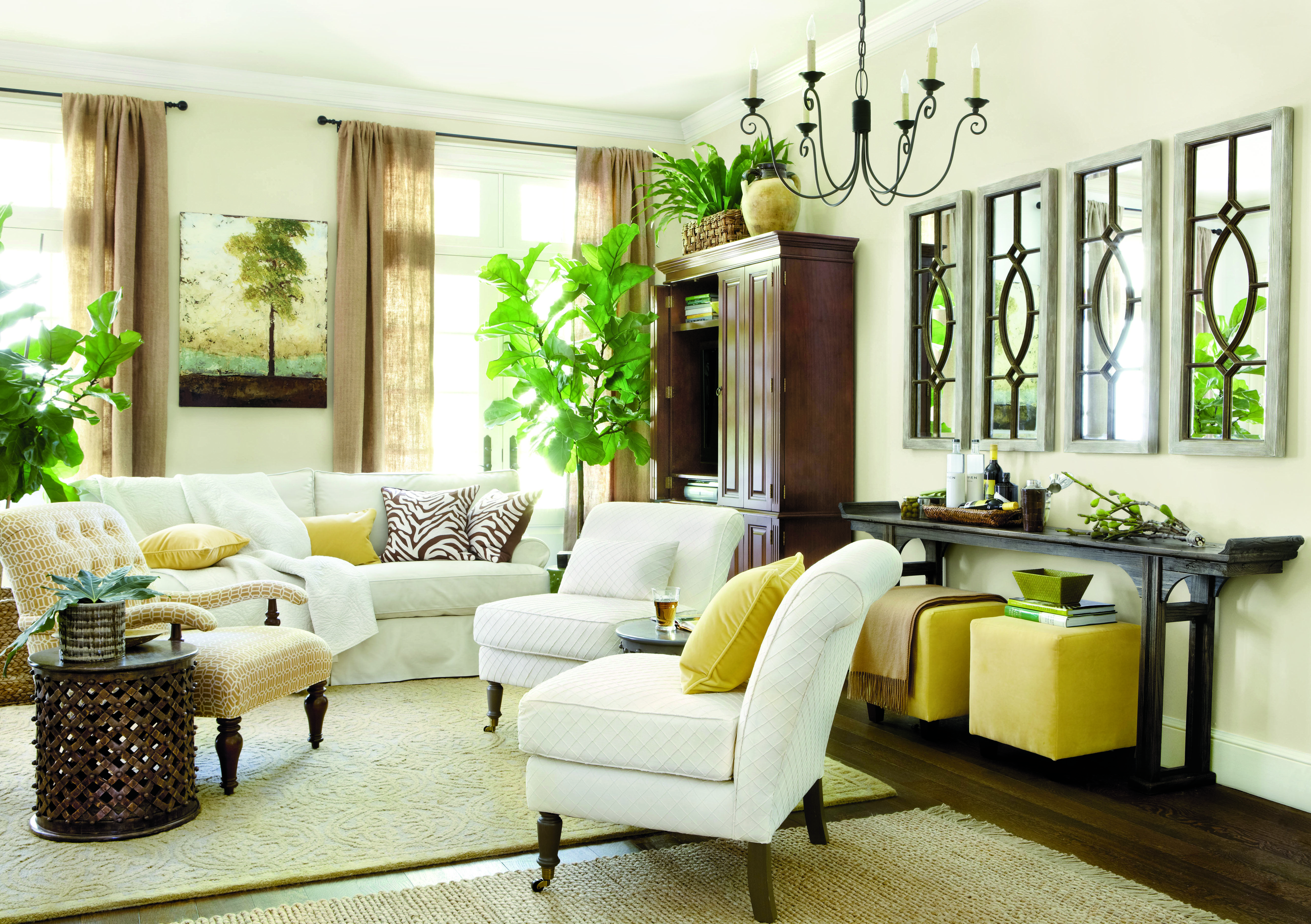 home inspirations window treatments define a room's style