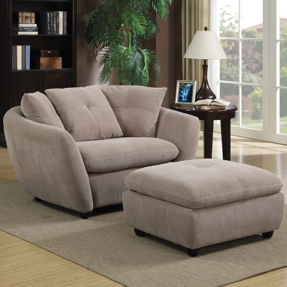 Armchair And Footstool Lounge Fabric Easy Chair Storage Ottoman Coffee Table Set Fabric Easy Chair Furniture Storage Ottoman Coffee Table [ 990 x 990 Pixel ]