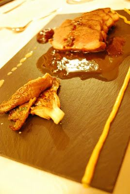 Duck breast with Red Fruit sauce and grilled Mushrooms made by Sa Volta in Es Pujols #savolta
