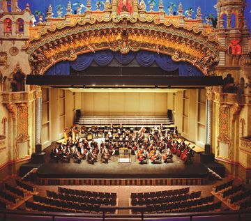 The Majestic Theatre Is San Antonio S Oldest And Largest Atmospheric Seats People Was Designed By Architect John Eberson