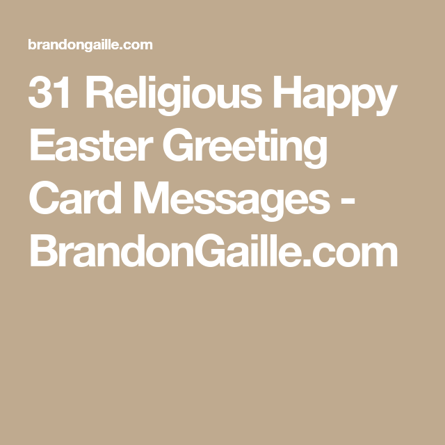 31 religious happy easter greeting card messages cards pinterest 31 religious happy easter greeting card messages brandongaille m4hsunfo