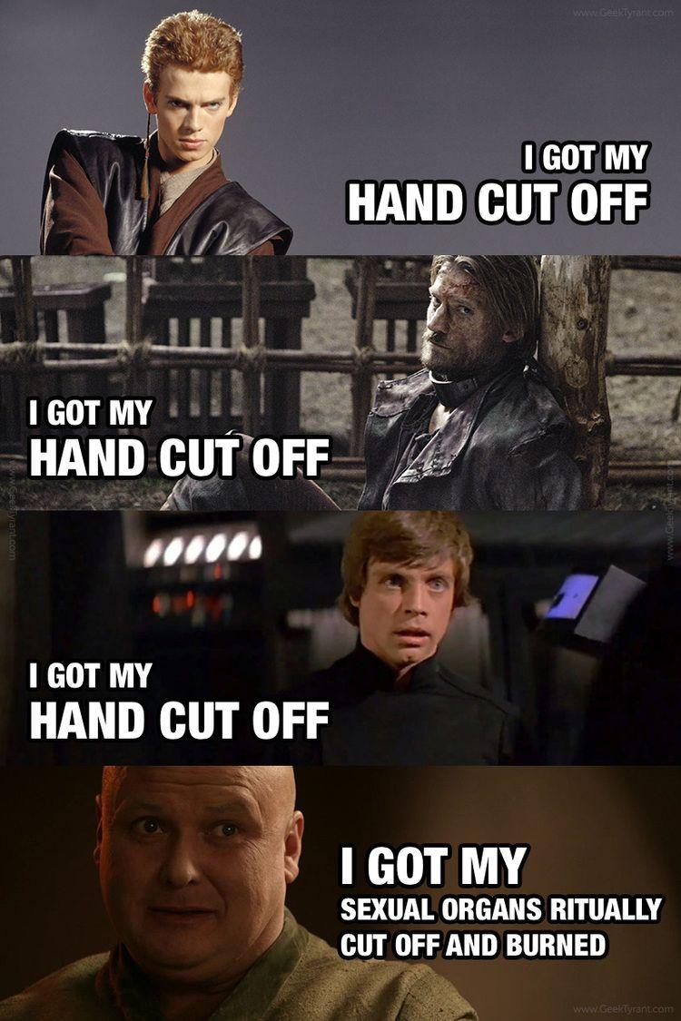 Star Wars Vs Game Of Thrones Memes Geektyrant Star Wars Game Of Thrones Funny Got Memes
