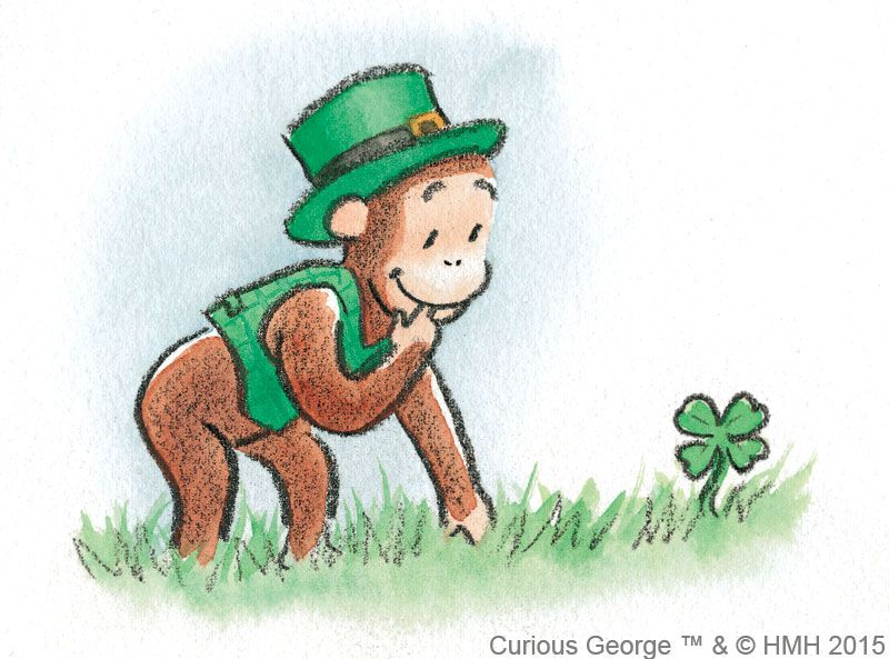 Happy St. Patricks Day, Curious George