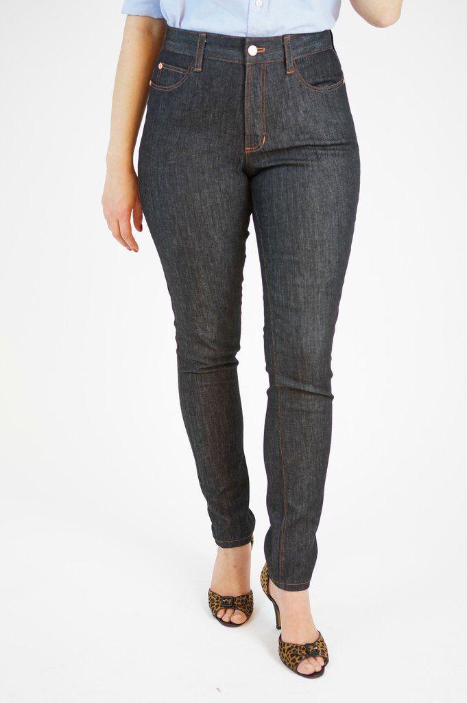 Ginger Skinny Jeans Pattern   amanda   Pinterest   Nähen