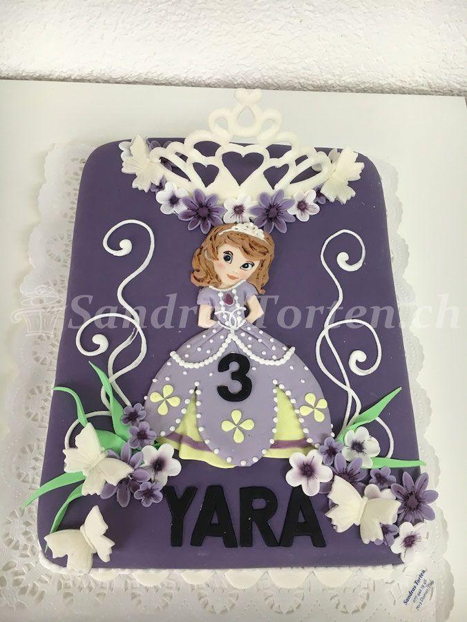 (Bild) Torte mit Prinzessin