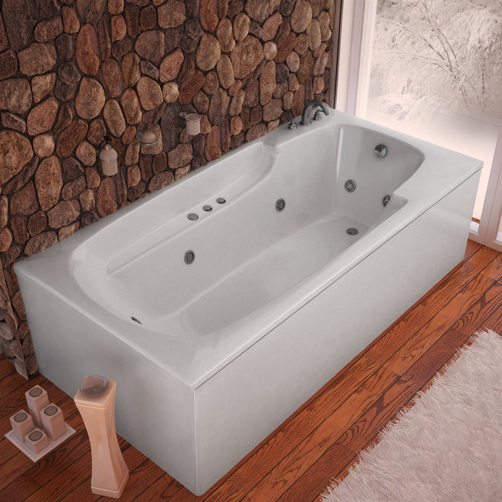 Shop Atlantis Eros Drop-in Whirlpool Bathtub at The Mine. Browse our ...