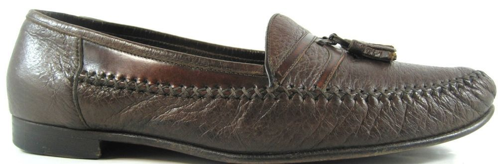 96bf3aa847d Moreschi Men Loafer Shoes Size 11.5 Brown Tassels Style 218775 Made Italy.  ABA 3  Moreschi  LoafersSlipOns  Casual