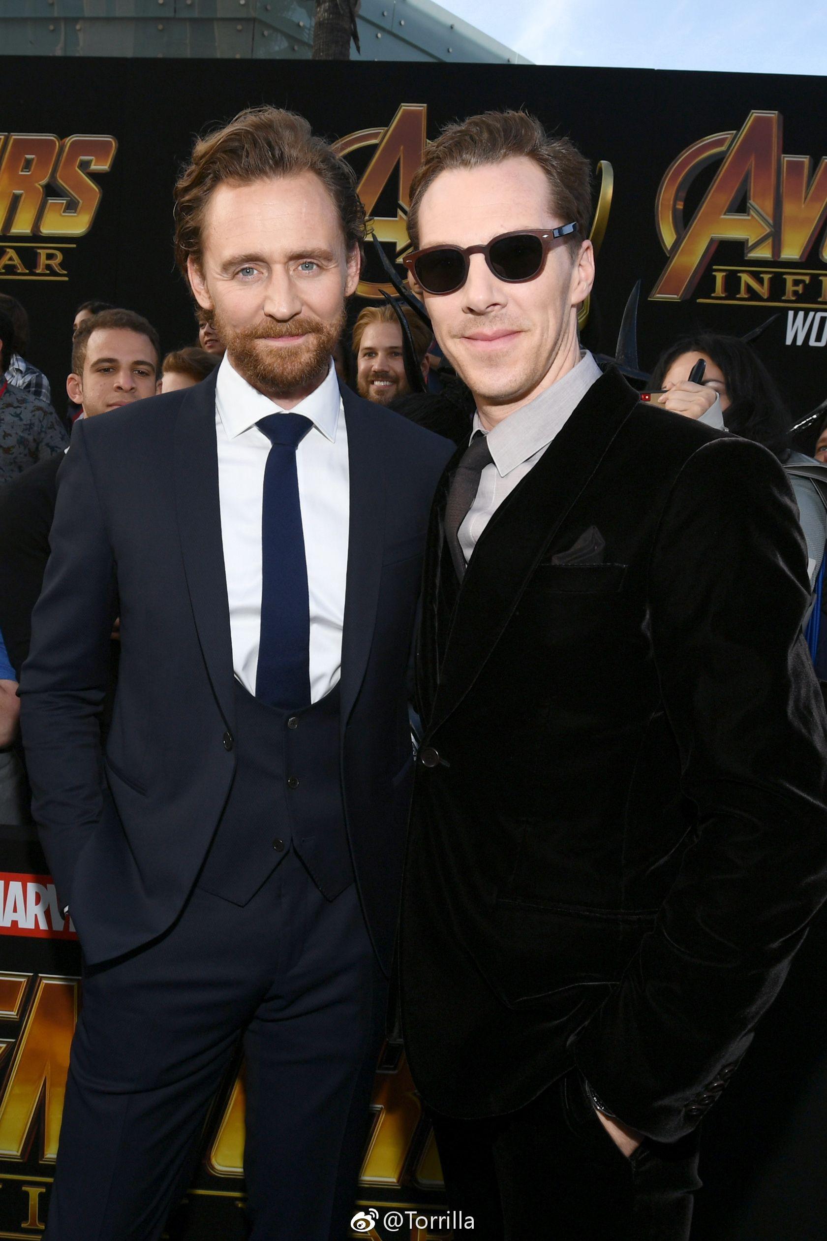 Tom Holland, Tom Hiddleston Benedict Cumberbatch Turned Wimbledon Into A Stylish Marvel Reunion