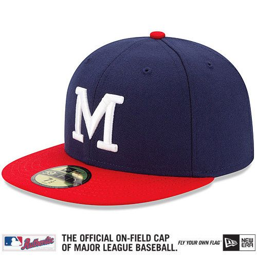 purchase cheap ee79a cbd5f Milwaukee Brewers Authentic Collection 1948 Turn Back The ...