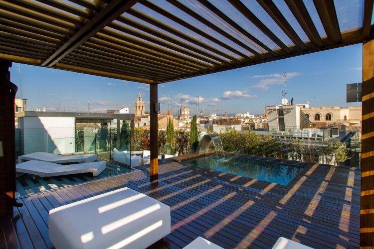 Attic Plaza Reina I Con Imagenes Apartamentos Hotel Moderno Hoteles