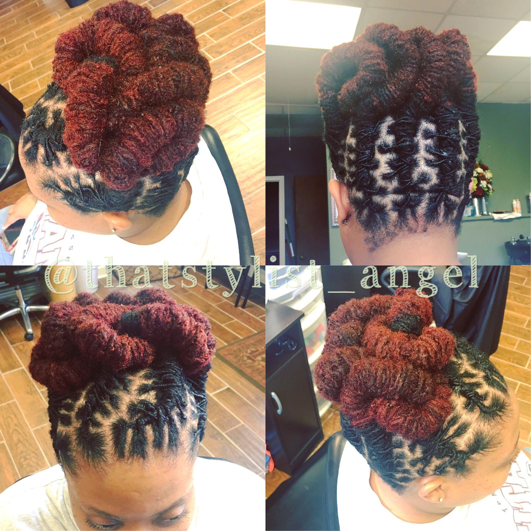 Loc Updo Barrel Rolls Dreadlocks Hair Styles Dreadlock Styles Locs Hairstyles