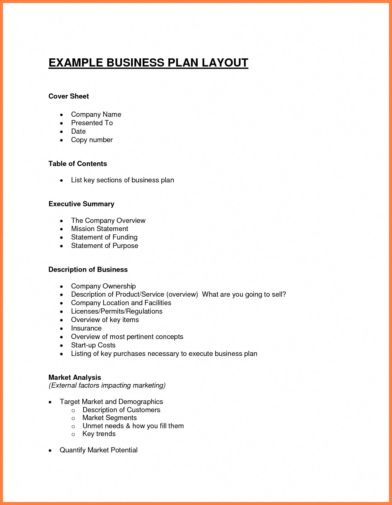 small bakery business plan sample