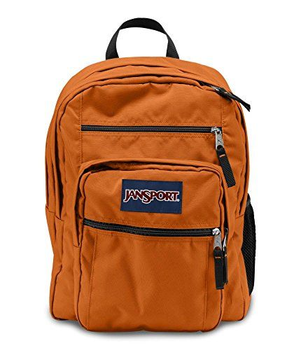 Jansport Big Student Backpack Texas Orange. For product  amp  price info go  to  6afc12d638