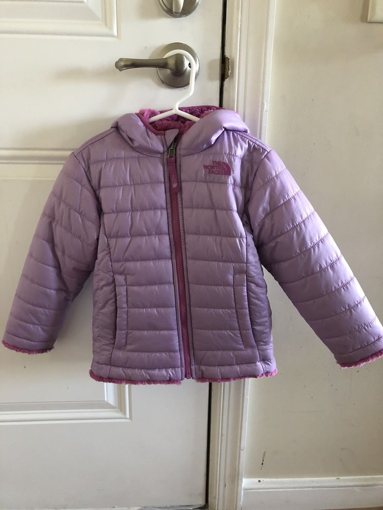 86c700e4c0f2 The North Face Mossbud Toddler Girls Winter Jacket Reversible Size ...