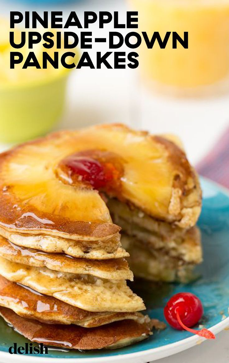 Pineapple Upside-Down Pancakes images
