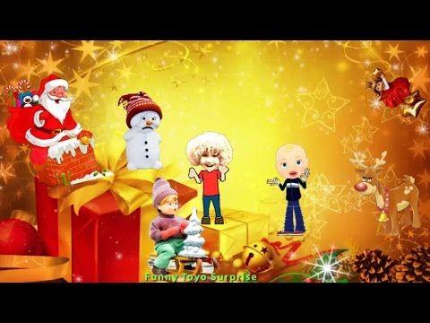 Up on the Housetop – Christmas Carol Lyrics Song Cartoon Animation Nursery Rhimes Kids - YouTube ...