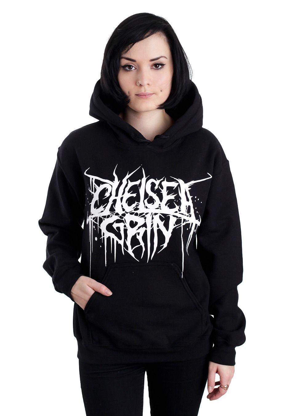 chelsea grin girl fist hoodie official deathcore merchandise online shop. Black Bedroom Furniture Sets. Home Design Ideas