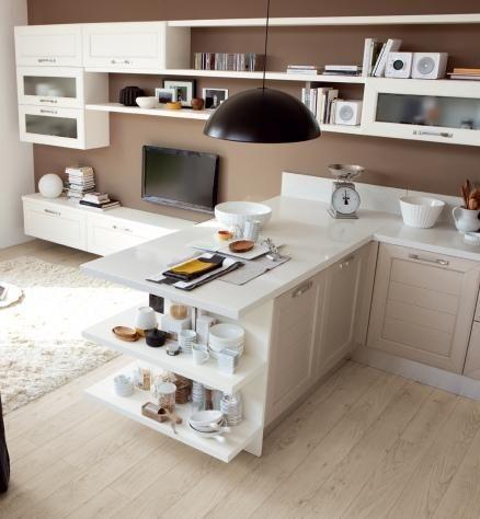 Claudia - Cucine Classiche - Cucine Lube | Cozinha casa Finalização ...