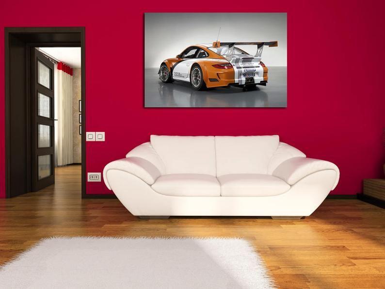Porsche Wall Art Porsche Wall Decor Porsche Print Porsche Etsy Retro Wall Decor Super Cars Decor