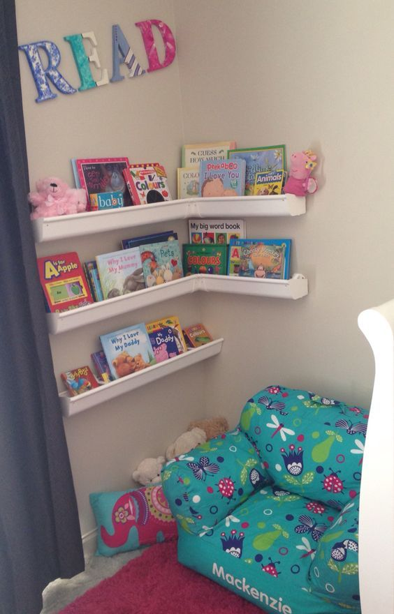 Create A Kid Friendly Reading Nook Toddler Bedroom Girl Girls